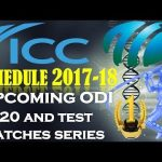 Upcoming Cricket Series 2018 [Officailly Revealed by ICC]