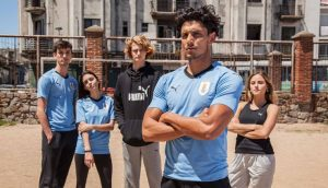 d5b32aca0 Well Puma is the official sponsor of the new kits and jerseys of Uruguay  for FIFA World Cup 2018 and two separate uniforms are designed for home and  away ...