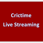 Crictime Live Streaming Cricket Scores Server 1 2 3 WWW.Crictime. Com