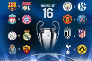 Uefa Champions League Knock Outs Schedule 2019 20