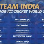 BCCI Unveiled 15-Member Team India Squad For Cricket World Cup 2019