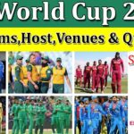ICC Cricket World Cup 2019 Venues List & Map Guidance