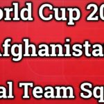 Afghanistan Team Squad Cricket World Cup 2019 (Confirmed)
