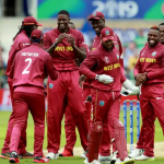West Indians Celebrating Wicket Loss