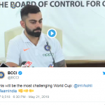 India Team Reaches England To Play Cricket World Cup 2019